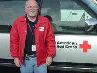 Bob Burns - Alexander County Red Cross Branch Manager