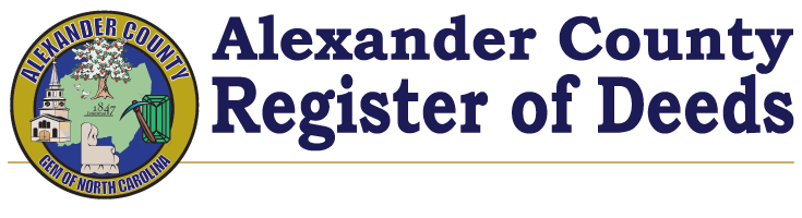 Alexander County Register of Deeds
