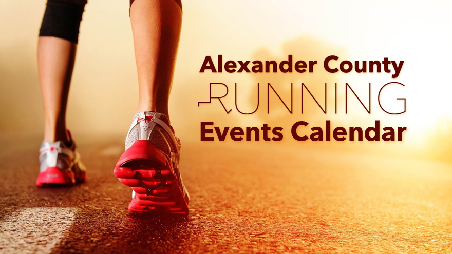 Running Events Calendar