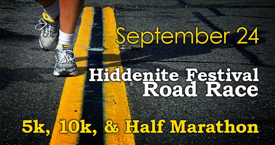 Hiddenite Festival Road Race