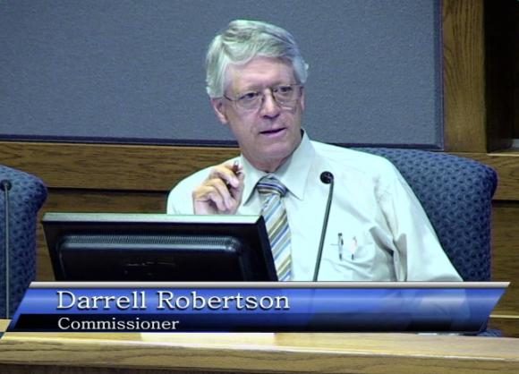 Commissioner Darrell Robertson