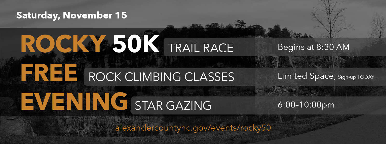 Rocky 50K Trail Run
