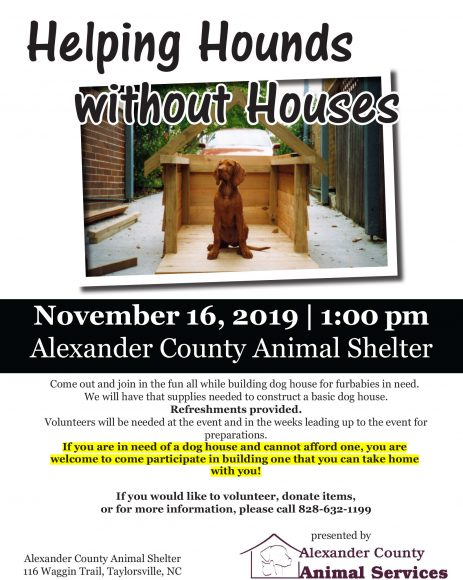Helping Hounds Without Houses