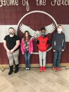 Forces of Nature: Krista Wacob, Emery Miller, Izzy Ayers, and Max Clair