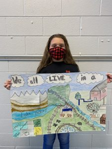 Fifth grade poster winner – Hannah Anderson, Ellendale Elementary