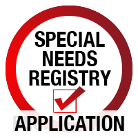 Special Needs Registry Application